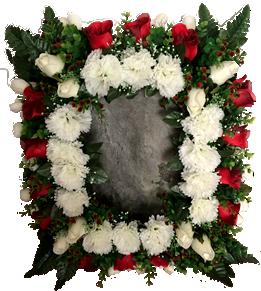 Coroa de Flores para fotografia